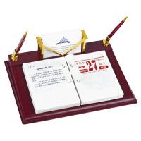杰丽斯台历架816-7 商务台历架 办公用品台座 商务笔筒台历日历座