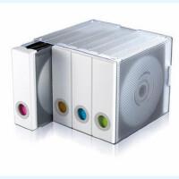 促销 艾华士四分格96片CD盒 白色 黑色