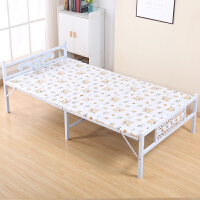 【优选】折叠床单人床双人加固型陪护床钢丝床办公室午休床简易木板床