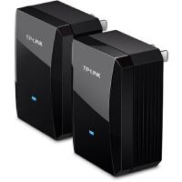 TP-LINK TL-PA500套装 500M电力线适配器两只装(电力猫);免布线有插座的地方就能扩展网络