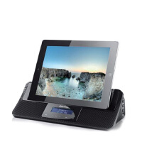 X-DS501 iPod/iPhone*音箱基座 超薄设计 2.1声道 USB音频功能