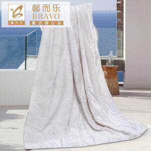 [当当自营]富安娜夏被空调被 馨而乐乐享大豆纤维夏被 1.2米