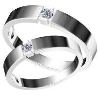梦克拉 约定 情侣戒 18K金戒指 钻石对戒 求婚戒女戒 可礼品卡购买