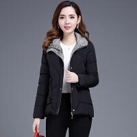 棉衣女短款2018冬季新款韩版时尚宽松反季加厚时尚羽绒外套潮 黑色