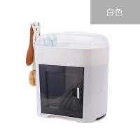 厨房碗架碗筷收纳盒放碗碟沥水收纳架二层带盖家用置物架塑料碗柜