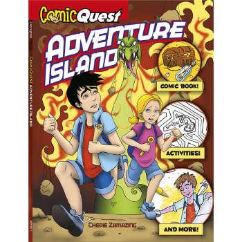 ComicQuest ADVENTURE ISLAND (【按需印刷】) 按需印刷商品,15天发货,非质量问题不接受退换货。