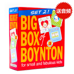 Sandra Boynton桑德拉博因顿纸板书3册盒装儿童英文原版绘本 Snuggle Puppy! Belly Bu