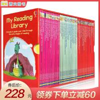 My Reading Library 我的第二个图书馆50册盒装 英文原版 这套书采用华丽插图和浅显易懂的故事情节,让儿童可以逐渐自行阅读较大部分的内容,逐步建立起阅读的信心