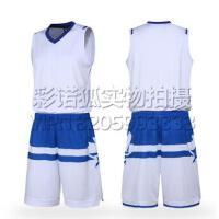 2016全明星东部空版蓝白色篮球服 2016全明星球衣东西部篮球服套装背心 团购比赛装免费定制LOGO设计印字印号