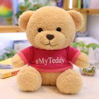 【品牌特惠】可爱泰迪熊小号毛绒玩具小熊公仔玩偶抱抱熊熊猫公仔布娃娃送女友