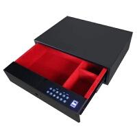 衣柜密码抽屉式保险箱防盗智能家用隐藏式指纹保险柜小型触屏新款