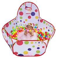 海洋球池儿童沙池宝宝玩具球海洋球玩沙池玩球池儿童玩具池小帐篷