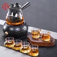唐丰烧茶壶电热煮茶一体玻璃家用熬茶壶蒸煮内胆小型电陶炉茶炉