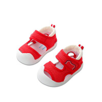 0-1-2岁幼儿学步软底鞋男宝宝鞋子婴儿凉鞋夏季包头凉鞋