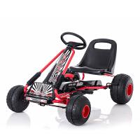 大型玩具车可坐人儿童卡丁车四轮脚踏自行车运动健身玩具汽车可坐宝宝沙滩童车 新款环保轮TL-6688脚踏卡丁车 其它