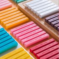 雄狮60色软式粉彩棒色粉笔粉彩笔粉蜡笔色粉棒