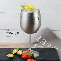 不锈钢鸡尾酒杯高脚杯 酒吧马天尼杯三角杯金属杯红酒杯ktv装饰品