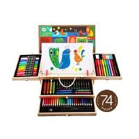 Joan Miro美�� �和��L��套�b工具�_�W必�湎��P水彩�P美�g用品����文具�Y盒