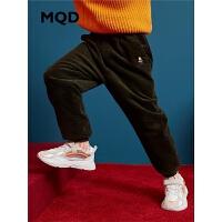 【1件3折:144】MQD男童休闲裤2019秋冬新款中大童加厚保暖裤儿童