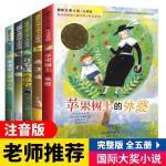 注音版 苹果树上的外婆 国际大奖全套5册小学生青少年版课外书必读一二三四年级石狐 五毛钱的愿望 兔子坡 爱德华的奇妙之