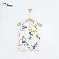 【限时秒杀价:26元】迪士尼童装男童夏季背心儿童纯棉吊带薄款外穿2021新款上衣时髦潮