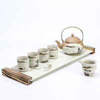 【好店】【好店】陶瓷景德镇功夫茶具套装家用手绘茶杯大容量茶器泡茶壶茶盘