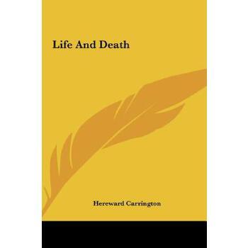 【预订】Life and Death 预订商品,需要1-3个月发货,非质量问题不接受退换货。