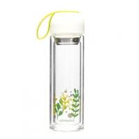 双层玻璃水杯便携创意耐热水瓶随手杯子过滤花茶杯LLG654