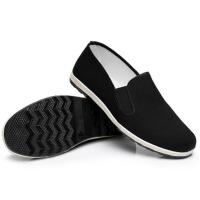 冬季老北京布鞋男鞋棉鞋加绒加厚软底休闲工作鞋