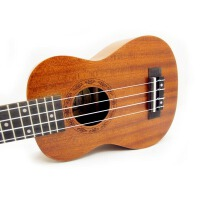 支持货到付款 Vorson ukulele 21寸小四弦琴 初学 入门 小四弦 夏威夷成人小吉他 音孔雕刻 乌克丽丽
