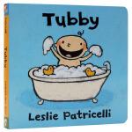 英文原版绘本 Tubby 名家 Leslie Patricelli 英语入门启蒙原版纸板书