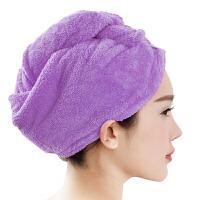 [当当自营]三利 高梳纱超柔软不掉毛干发巾 薰衣草紫 强吸水加厚加大浴帽