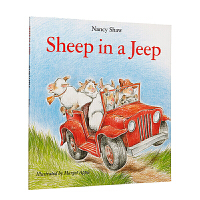 Sheep in a Jeep 小羊向前冲 英文原版 廖彩杏书单 韵文 英文儿童读物