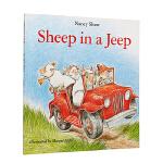 #Sheep in a Jeep 小羊向前冲 英文原版 廖彩杏书单 韵文 英文儿童读物