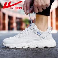 【下单立减100元】回力男鞋2020新款夏季老爹鞋子潮鞋百搭休闲运动鞋透气网面跑步鞋