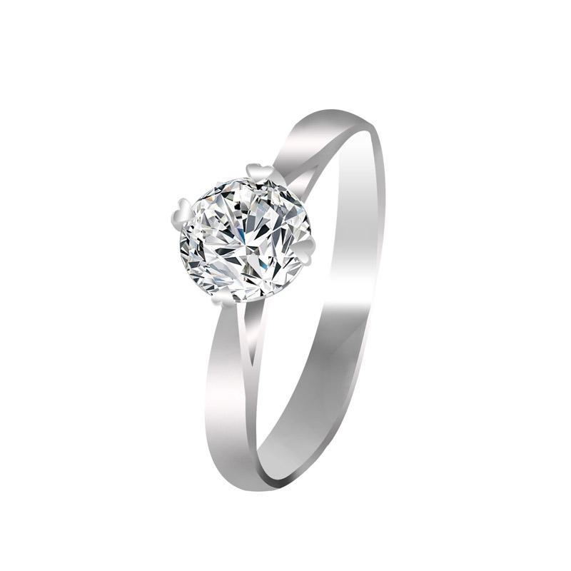 梦克拉  PT950铂金戒指钻石戒指月光 50分结婚戒指钻戒 GIA证书 有美饰 更出色 优雅焕然一新