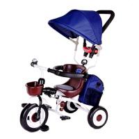 20181112220518390ar儿童折叠三轮车手推车宝宝1-3-5岁儿童自行车