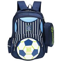 儿童书包2-6年级背包休闲书包6-12岁酷仔王子书包小学生男双肩包