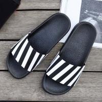 拖鞋男夏新款韩版软底室外时尚外穿潮拖沙滩一字拖鞋男士夏季