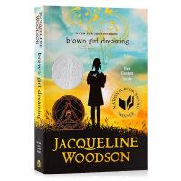 黑人女孩的梦想 Brown Girl Dreaming 英文原版小说 纽伯瑞儿童文学银奖 历史故事书 英文版进口书籍