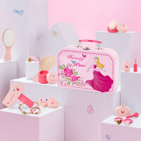 儿童化妆品包盒女孩过家家仿真梳妆台玩具3-5岁8女童宝宝生日礼物