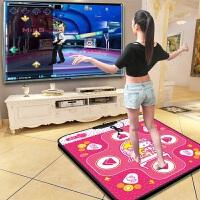 悦步跳舞毯单人电脑专用接口加厚高清歌曲游戏家用减肥跳舞机 USB电脑专用+ 颜色随机+简单健身