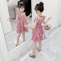 2019新款夏装儿童童装裙子小女孩洋气公主裙女童夏装连衣裙