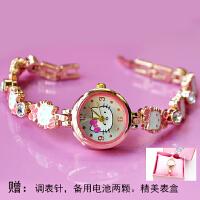 儿童手表女孩小巧防水电子表学生时尚可爱手链腕表