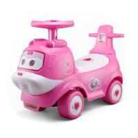 飞侠滑行车带音乐四轮扭扭车小孩平衡助步车儿童玩具