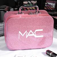 化妆包小号便携韩国简约可爱网红少女心大容量收纳盒品化妆箱手提 大号 粉色