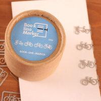 善书者BookMark 创意金属书签/自行车 SQ-JS037 20枚盒装迷你卡通造型金属书签唯美可爱文艺小清新男女孩