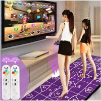 高清加厚瑜伽跳舞毯瑜伽毯双人电视电脑两用手舞足蹈体感游戏跳舞机