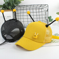 男童鸭舌帽宝宝太阳帽潮儿童帽子夏季女童薄款遮阳帽