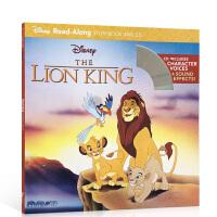顺丰包邮 The Lion King 狮子王(书 CD)Disney Read-Along Storybook and